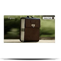 Circular Needle Case Expresso Brown