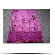Knitting Needle Roll Case Brilliant Knitting
