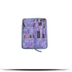 Lavender Zip Combo Knitting Needle Case