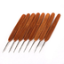 generic portable metal crochet needles hooks