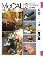 Mc Calls 8294 Sewing Pattern Embroiderers